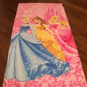 Disney princesses beach towel